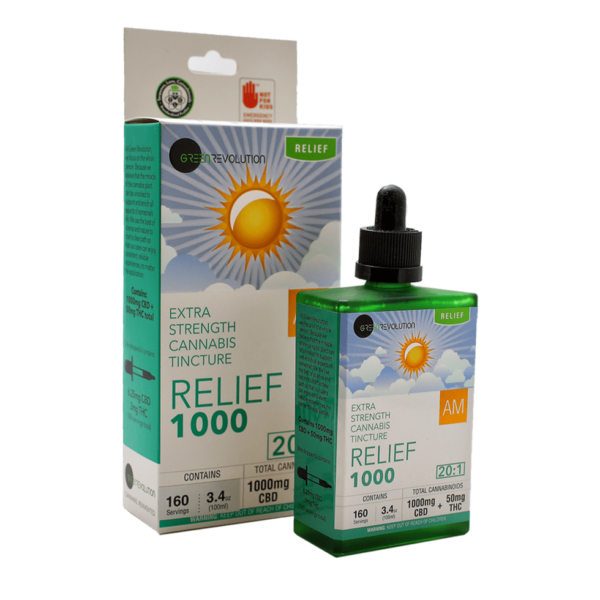 relief extra strength cannabis tincture